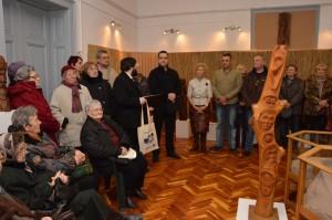 Talamasz Lajos emlékkiállítás megnyitó 2016. január 22.