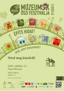 Múzeumok Őszi Fesztiválja 2016 plakátok